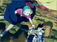 Goku Salvando a Bulma