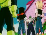 I tre Cyborg arrivano all'Isola del Genio