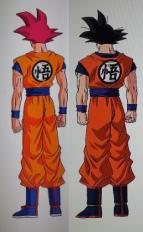 Son Goku comparación SSG