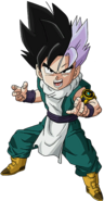 Super Dragon Ball Heroes World Mission - Character Sticker - Gohanks (EX)