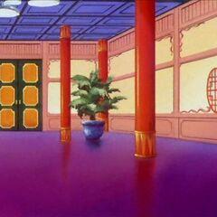 L'interno del palazzo.
