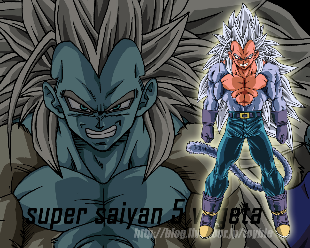 Real SSJ5 According To AF Ssj 5