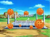 Showdown! Cell vs. Goku!