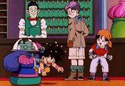 Goku, Pan e Trunks nell'albergo