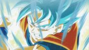 Goku blue opening 2 dragon ball super by windyechoes-day0c7l
