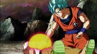 Goku salva Kame-Sen'nin