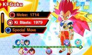 KF SSG Goku (SS3 Vegeta)