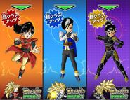 Super Class-Up Saiyan femeninas