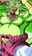 Broly Ozaru Dorado Legendario