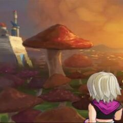 Il castello di Pilaf in Dragon Ball Online