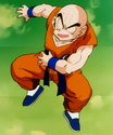 Gohan, Defeat Your Dad!! - Krillin confident
