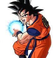 Goku KameHameHa DBZK