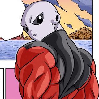Jiren nel manga di Dragon Ball Super.