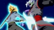 Zamasu fusione vs Trunks del Futuro