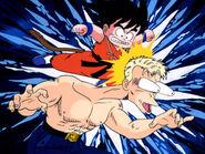Blue vs Goku