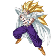 Son Gohan - Adolescent (Super Saiyan 3) (Artwork)