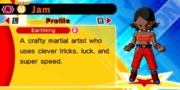 DB Fusions Female Earthling Jam (Character Profile)