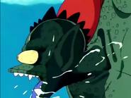 Goku ataca a Tambourine