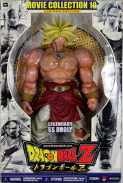 Jakks Pacific Dragon Ball Z Movie Collection 18 Limited Edition LSS Broly
