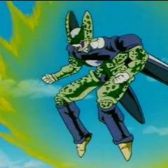 Cell usa il potere del Super Saiyan