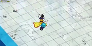Chi-Chi saltando