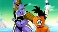 Ginyu pose Goku