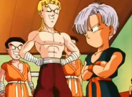 Idasa molestando a trunks