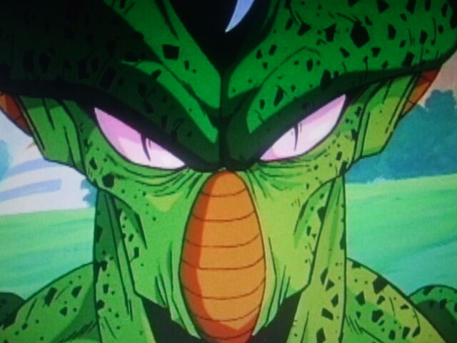 File:Cell show evil grin at Piccolo.JPG