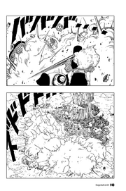 Dr Gero uses his Bionic Punisher destory large portions of the island