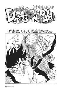 Goku's Fight