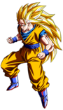 Goku SSJ3 Dragon Ball Heroes HD