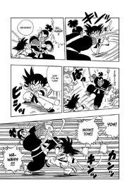 Goku and Ninja Murasaki battle