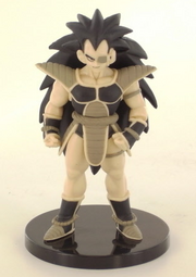 Posing Raditz-BWVersion