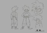 Sketch DBZ11 Gohan