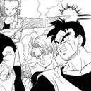 Trunks, gohan and 18