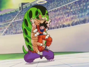 Catapy fa il solletico a Goku