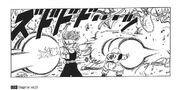 Future Trunks and Krillin destroy Dr Gero's secret laboratory