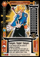 J2 Future Trunks - Mysterious Youth, DBZ TCG 2005 Score Entertaiment