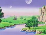Paesaggio pianeta dei Kaiohshin
