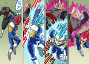 Super Saiyan God-Blue Vegeta