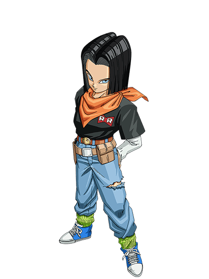 Androide Número 17 | Dragon Ball Wiki | FANDOM powered by Wikia