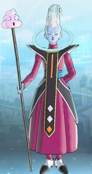DBXV2 Whis (Partner Customization) Gift - Poo Staff (Special Costume)