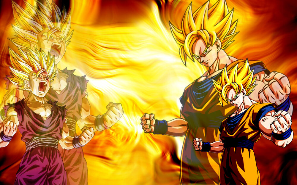 DBZ wallpaper 1440X900 by Ryan Cheale