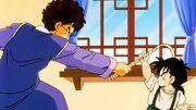 Gohan e Mr. Shu