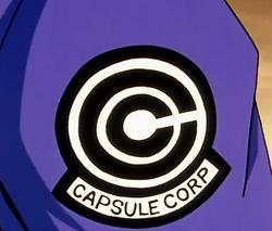 Kapsuliu korporacijos logo logotipas