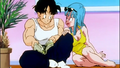 Maron Flirting With Yamcha