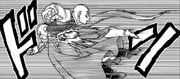 Tenshinhan eliminato da Frost - manga