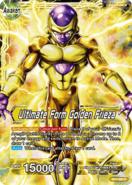 Ultimate Form Golden Frieza card