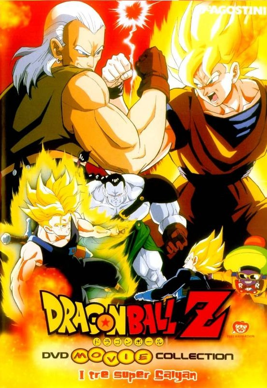 Dragon Ball Z i tre Super Sayan