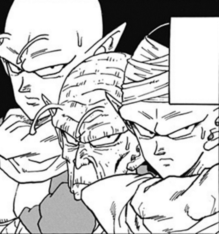 Piccolo Nail And Kami